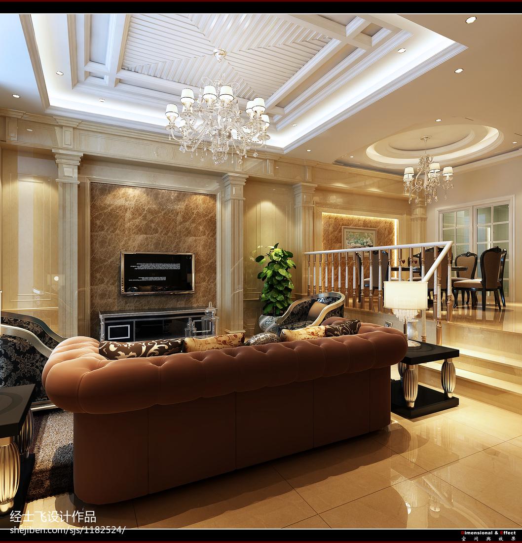 古典简约公寓家居装饰效果图片