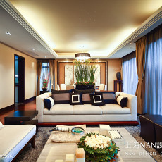 热门客厅新古典装修实景图片