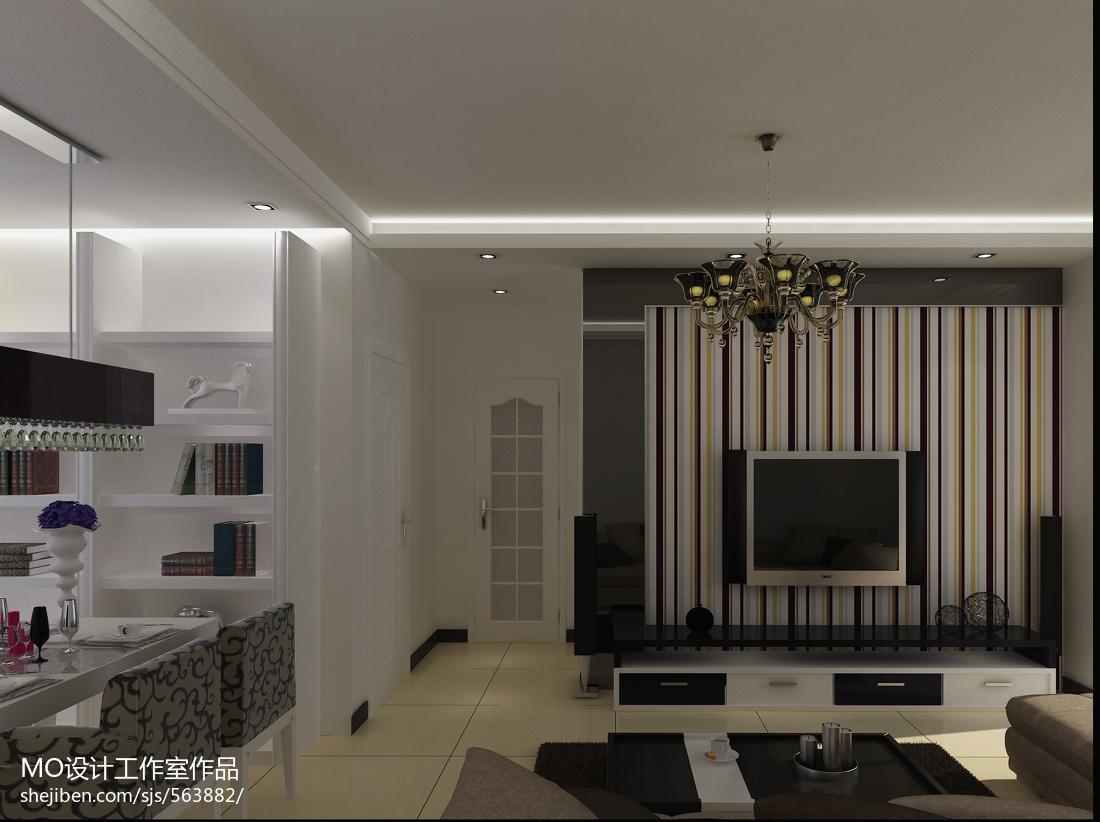 温馨简约风格客厅设计