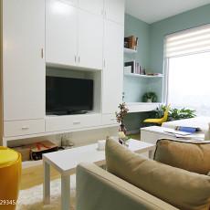 2018现代小户型客厅装修设计效果图