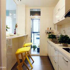 2018精选83平米现代小户型餐厅装修效果图片欣赏