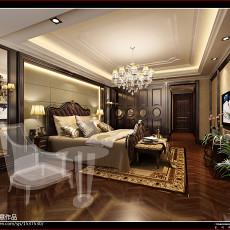 精美面积121平欧式四居卧室装修效果图片大全