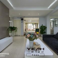 热门89平米二居客厅现代欣赏图片大全