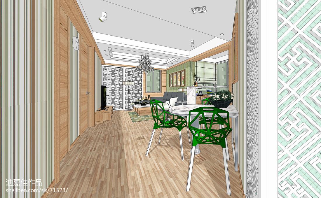 2015美式风格厨房室内装修图片
