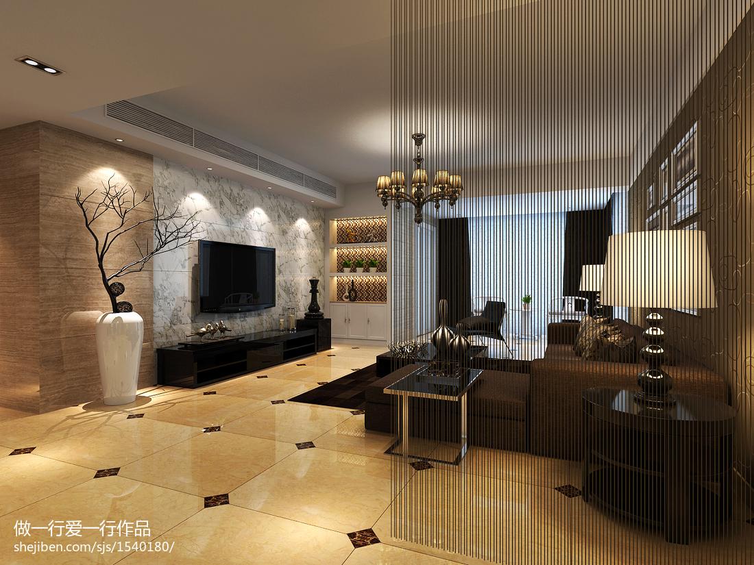 精选129平米现代别墅休闲区装修实景图片