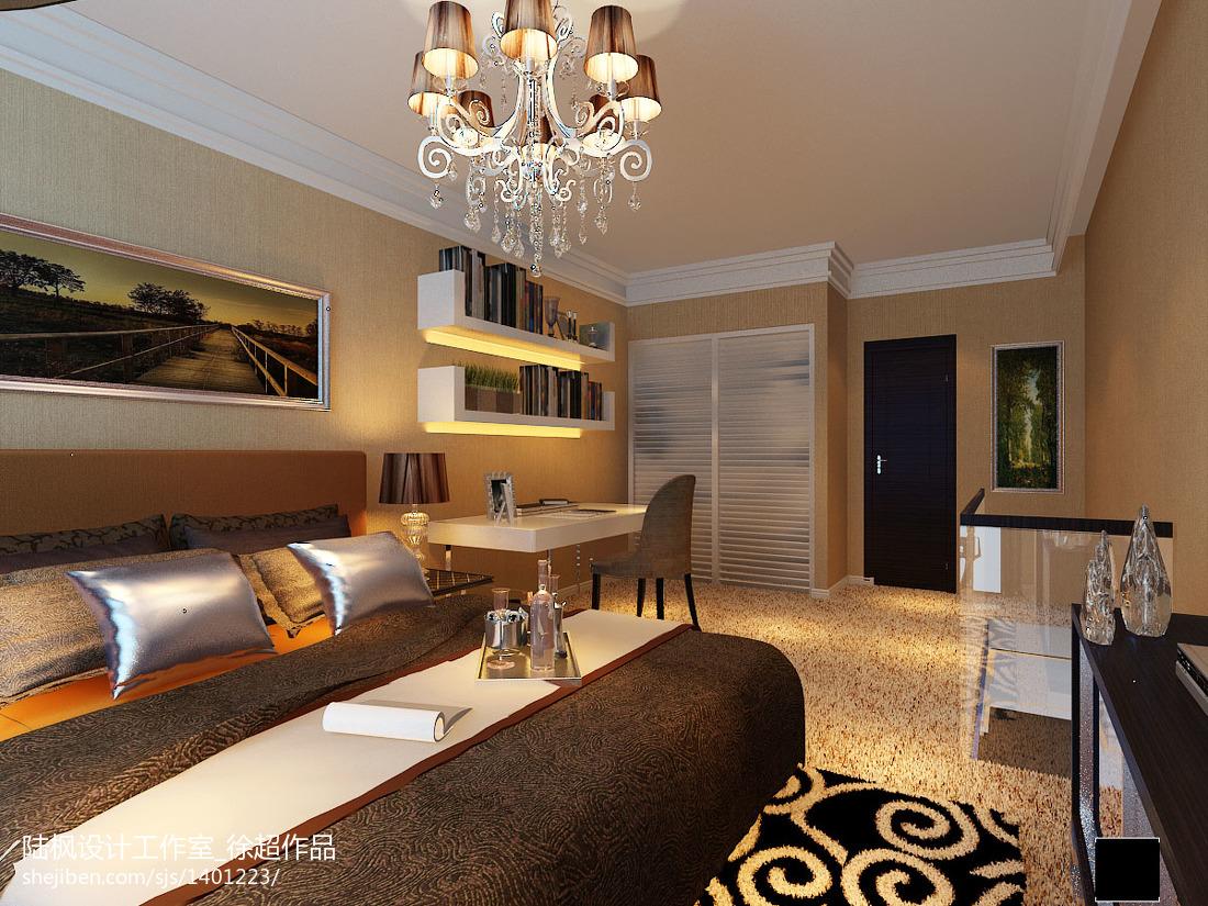 2018137平米现代复式卧室装饰图片欣赏