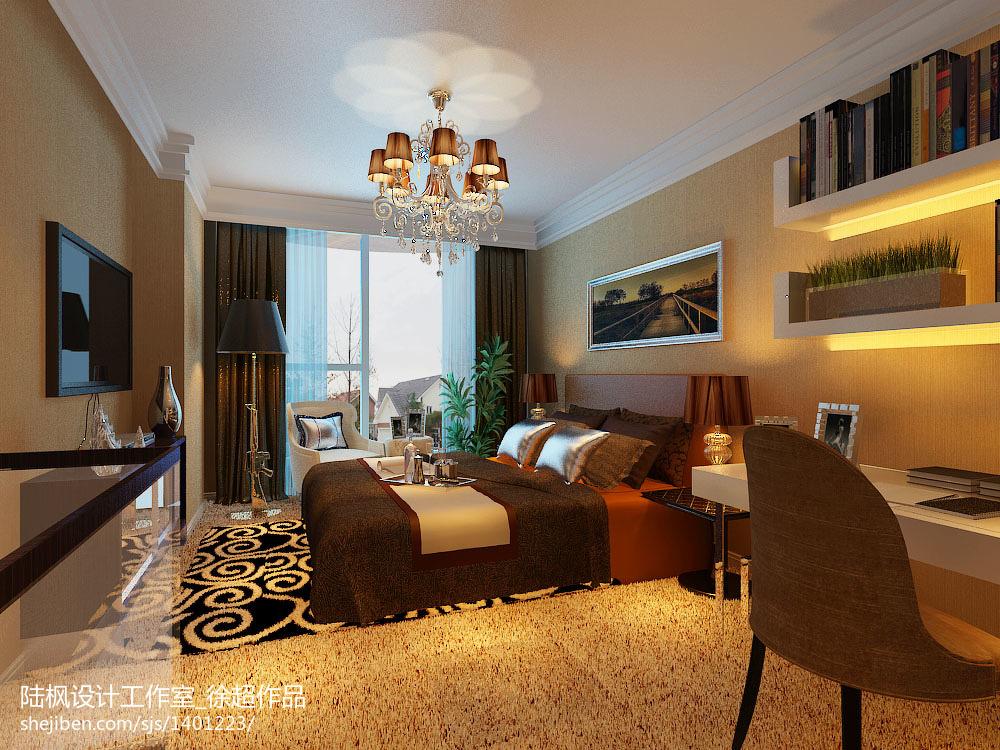现代复式卧室装修图片大全