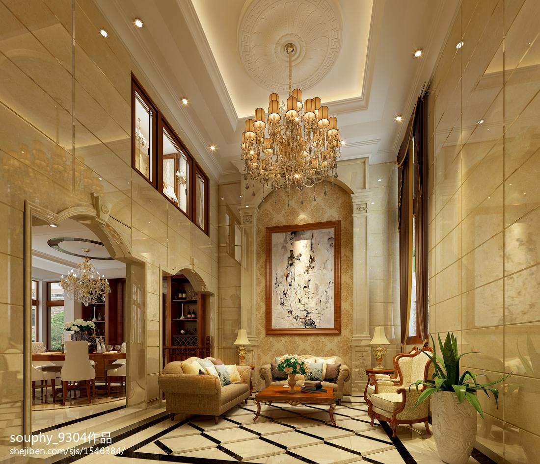 美式设计豪华休闲区大全