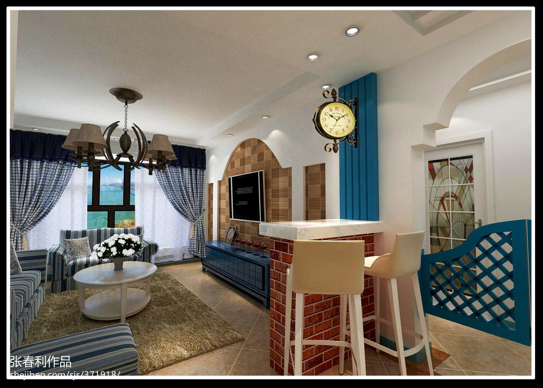 精致的欧式风格家装书房效果图