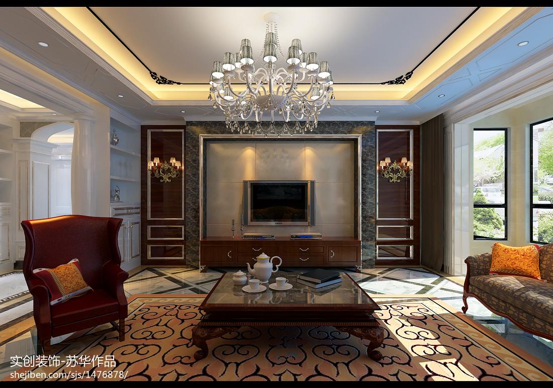 精美面积83平公寓北欧装修图片欣赏
