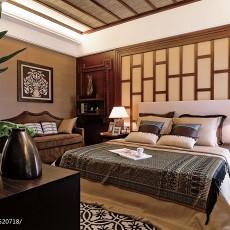 精选东南亚卧室装修实景图片大全