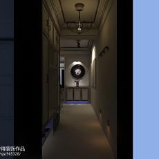 现代小户型玄关装修设计效果图