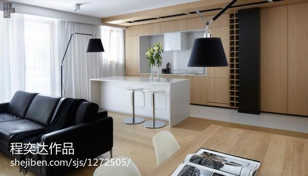 现代别墅室内隔断装饰设计图片
