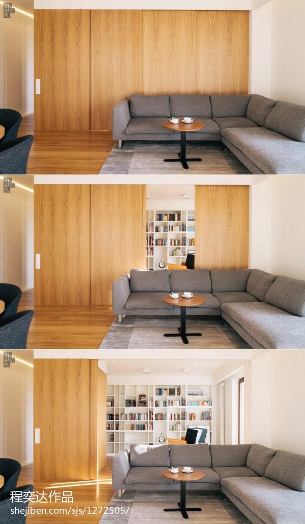 现代别墅室内卧室设计图片