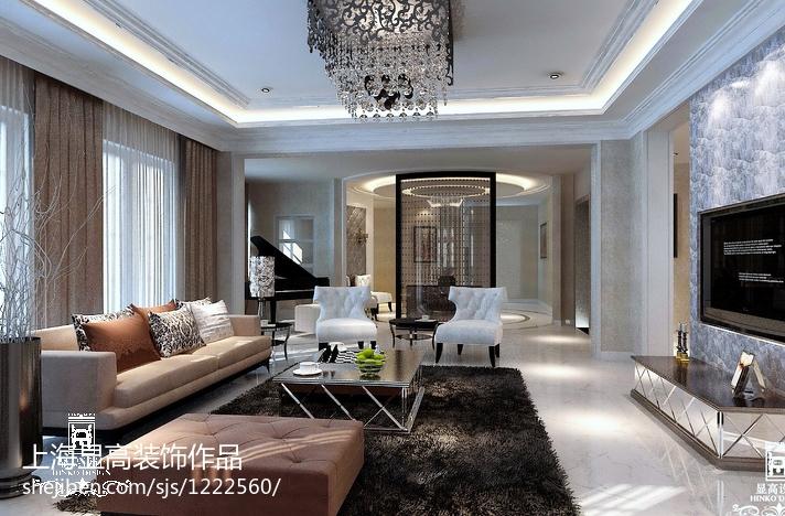 小清新风格宜家装修客厅设计