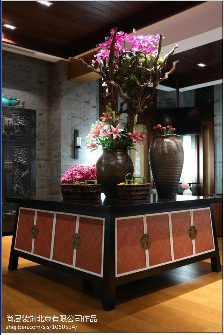 东南亚风格楼梯间吊灯图片欣赏