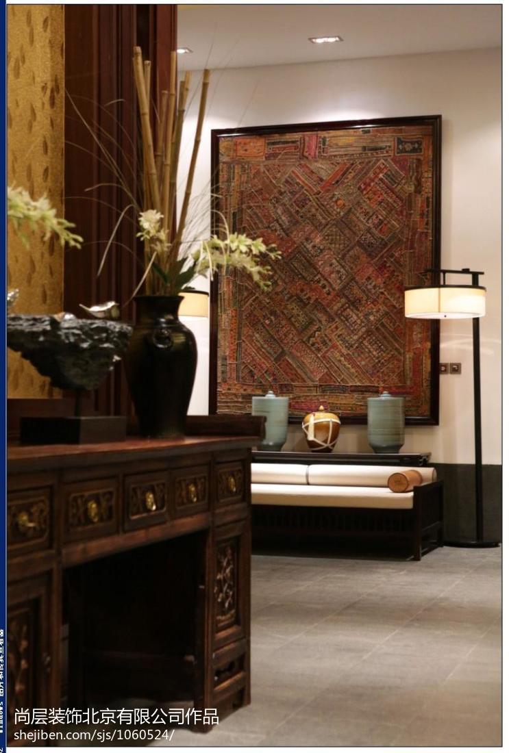 东南亚风格客厅隔断图片