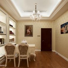 精美欧式小户型书房装修实景图片欣赏