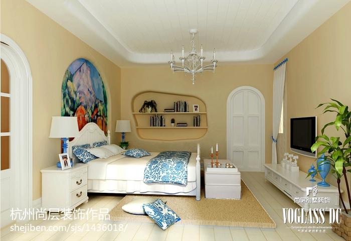 现代卧室局部装修示例