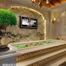 精选面积140平别墅卫生间欧式装修设计效果图片大全