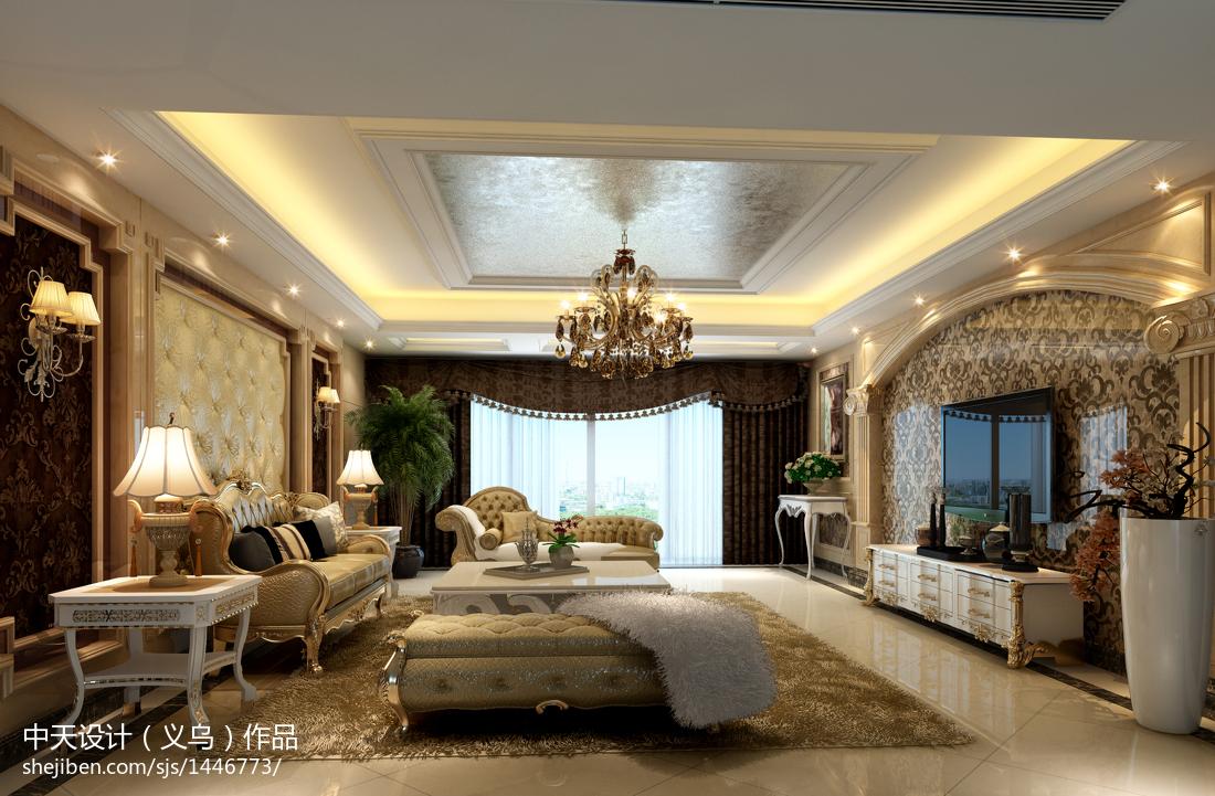 美式客厅柜