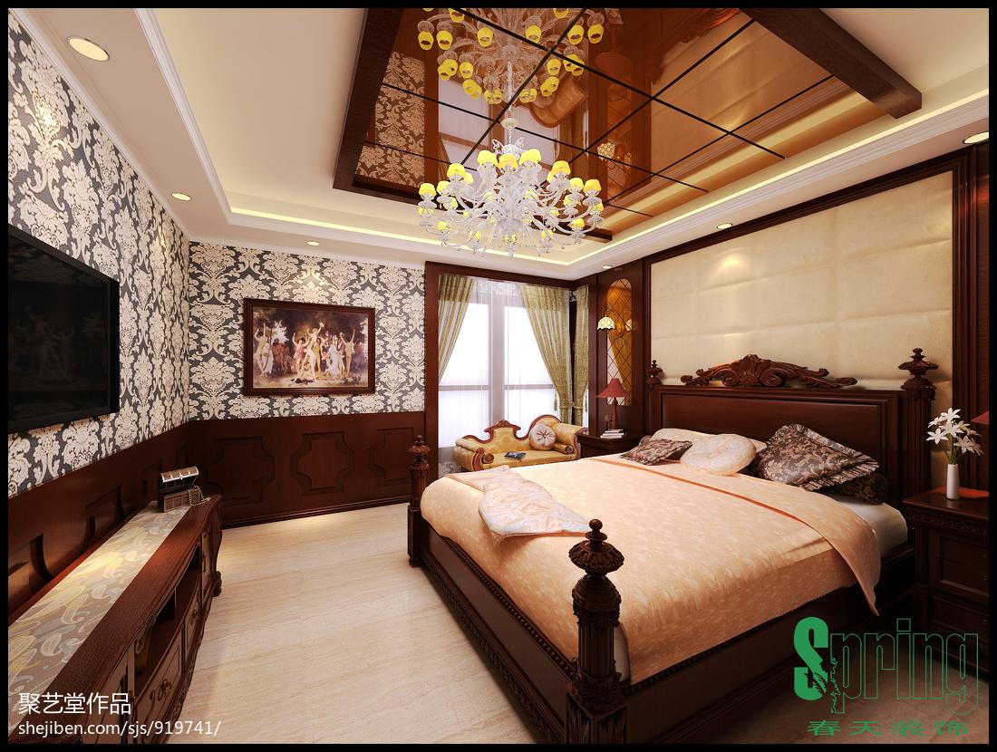 简约典雅设计风格卧室设计