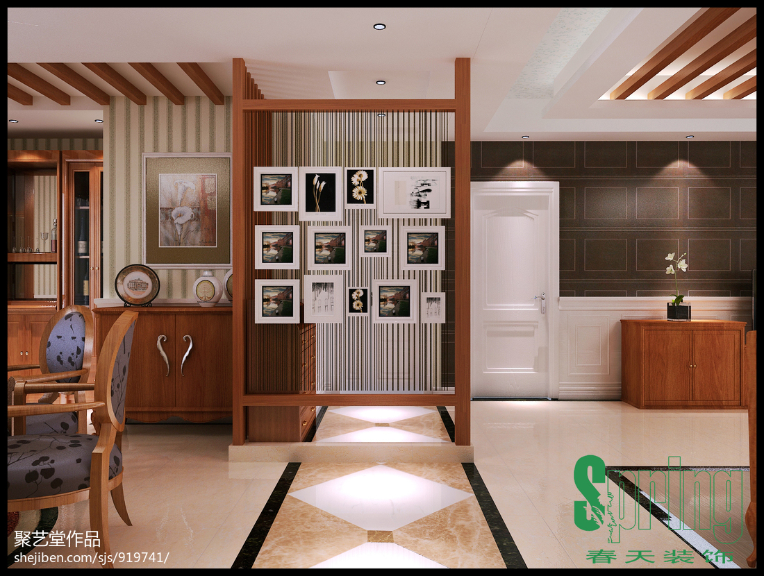 简约典雅设计风格家居设计