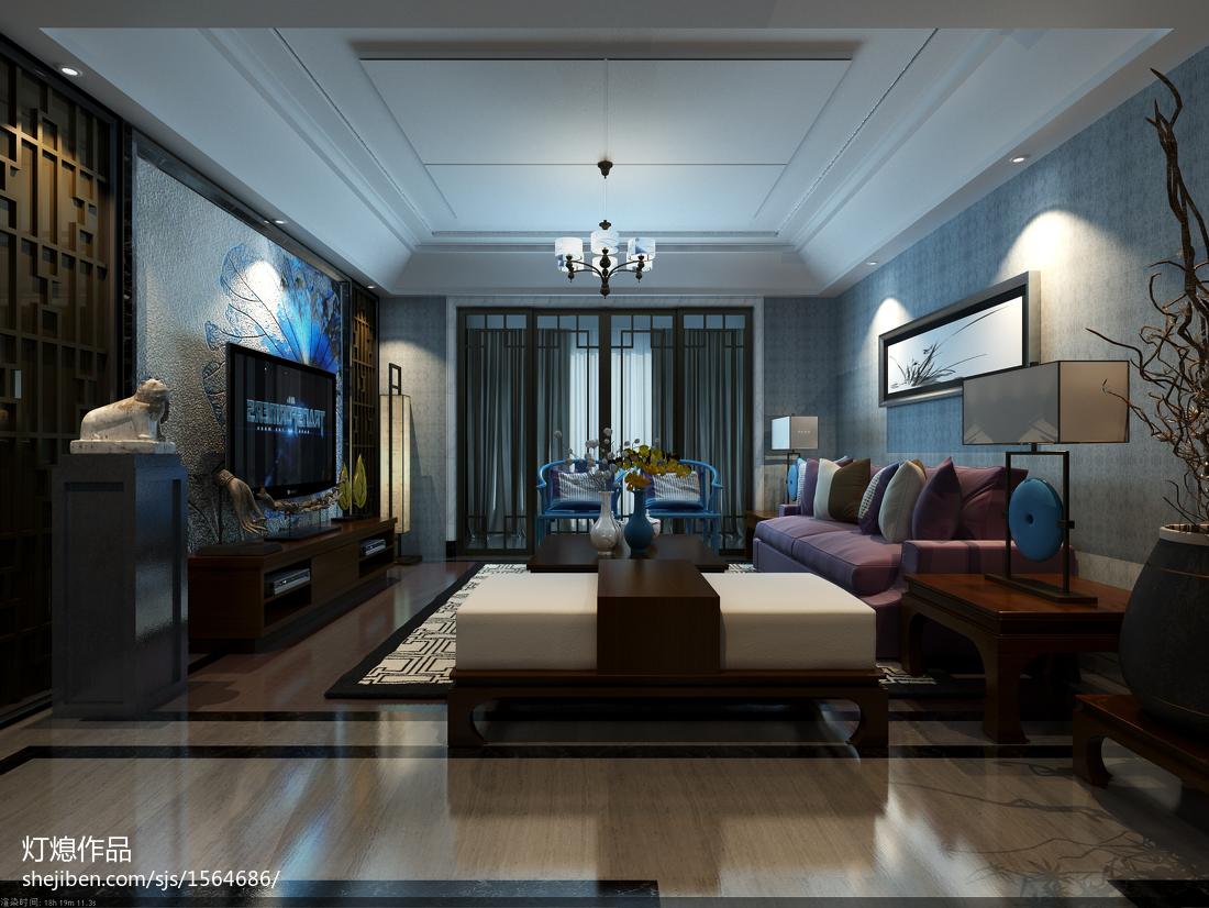家装室内设计隐形门效果图2015