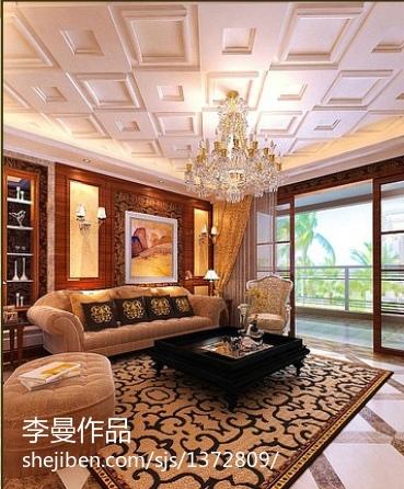 现代家庭设计卧室飘窗