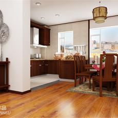 热门中式三居厨房装修实景图片大全