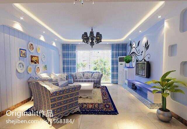 80平米现代小户型客厅欣赏图片大全