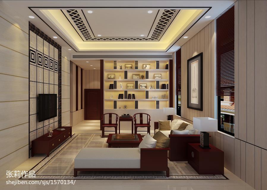 美式风家居客厅效果图