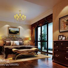 129平方四居卧室欧式装修欣赏图片大全