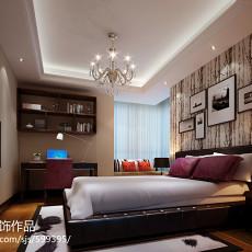 137平米四居卧室欧式装修效果图