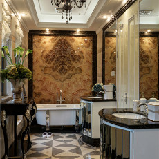 热门111平米欧式别墅卫生间欣赏图片