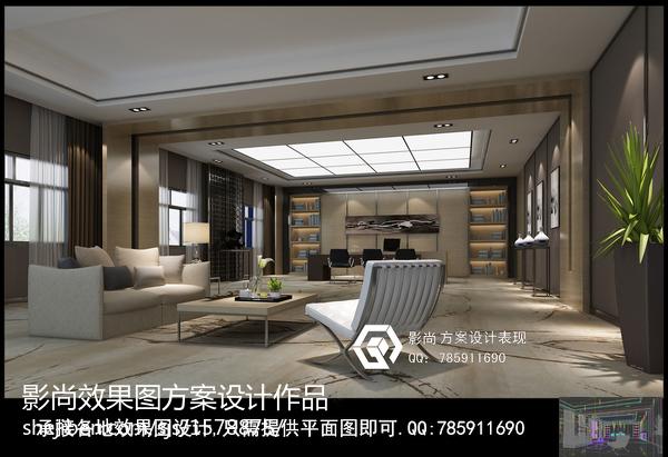 精选85平米简约公寓装修图片