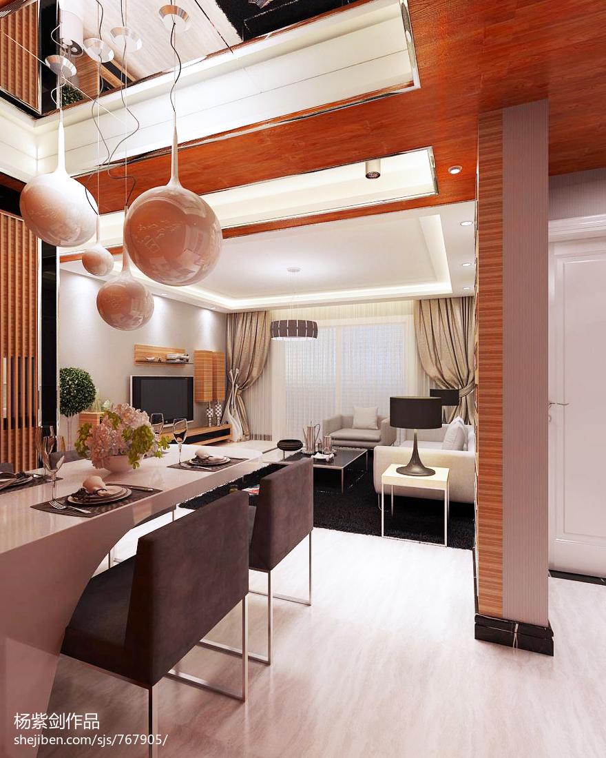 精美现代小户型休闲区装修设计效果图片
