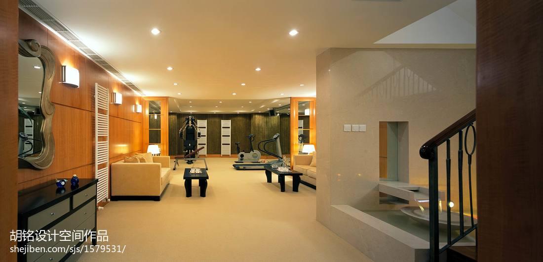 后现代风格别墅设计装修效果图