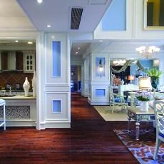 热门135平米新古典别墅客厅装修设计效果图片