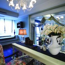 热门144平米新古典别墅书房装修图片