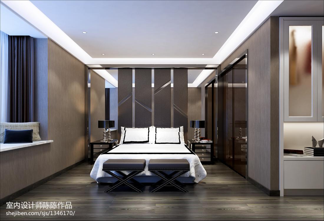 卧室美式简约风格装修