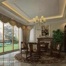 2018精选118平米欧式别墅客厅装修图片