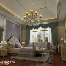 热门114平米欧式别墅卧室欣赏图片
