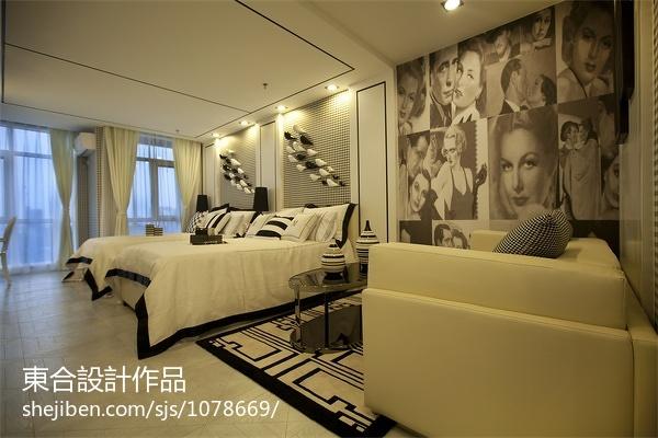 简约风格复式卫生间家装效果图片