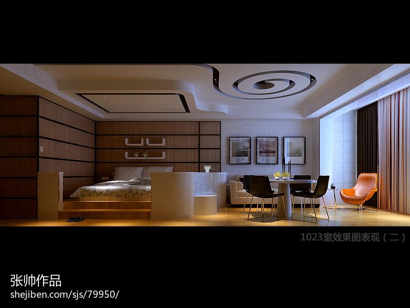 精美现代小户型客厅装饰图片欣赏
