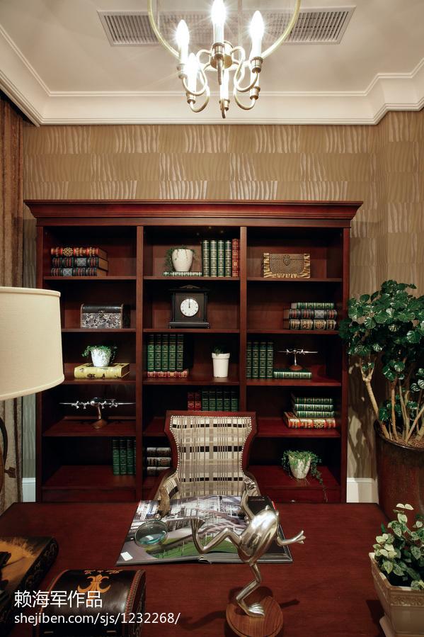 中式家具书房