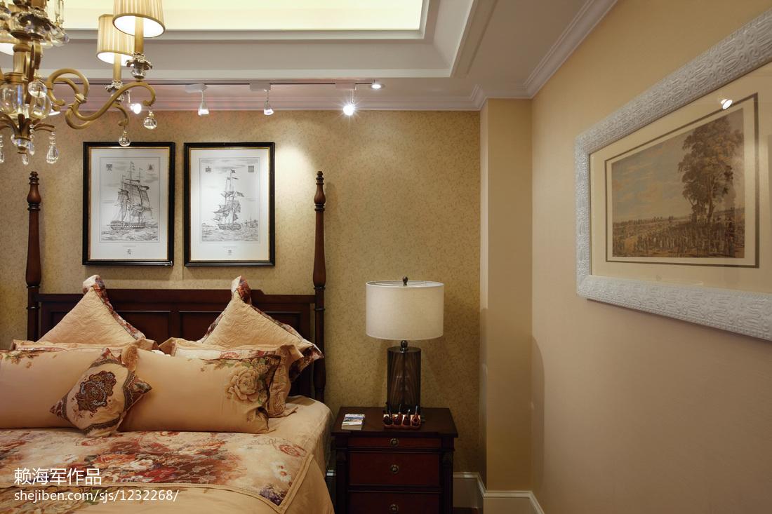 欧美卧室装修图