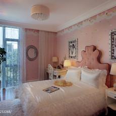 精美面积107平混搭三居卧室装修实景图片大全