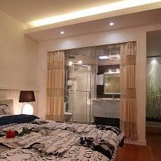 现代三居室装潢设计图片