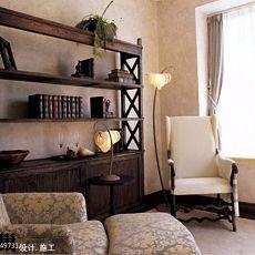 热门三居休闲区中式装饰图片